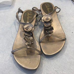 Size 8.5 Cole Haan T Strap sandal